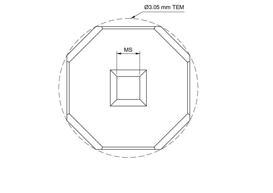 TEM window driagram