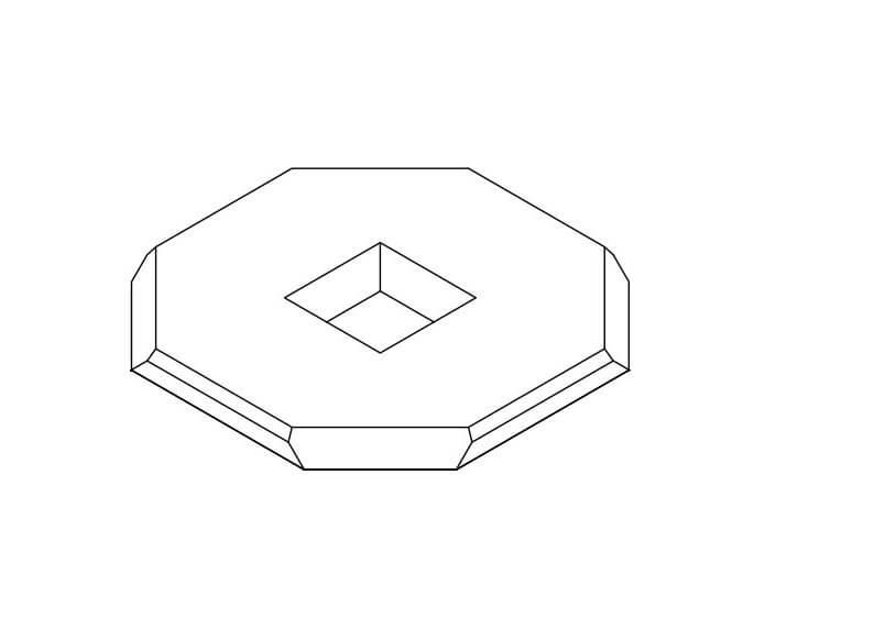 TEM window cross-section diagram