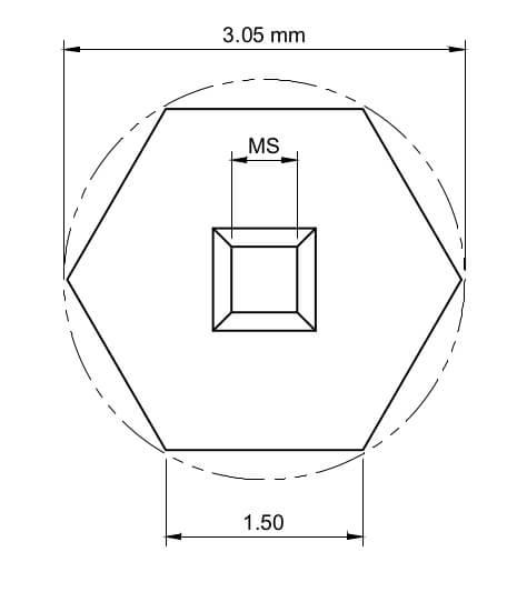 3.05nm TEM membrane