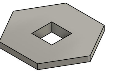 TEM hexagon
